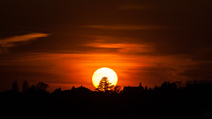 Sunset / @ 300 mm / 2019-04-17 (astrofreak81) Tags: explore clouds shadow schatten sunset sun wolken sonnenuntergang sonne sky himmel heaven light dawn orangesky orange dresden 20190417 astrofreak81 sylviomüller sylvio müller