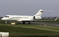 Bombardier Global 6000 M-MAVP @ Isle of Man Airport (EGNS/IOM) (Joshua_Risker) Tags: isle man airport egns iom ronaldsway bombardier global 6000 glex express mmavp