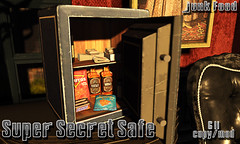 Junk Food - Super Secret Safe Ad (Late Billig.) Tags: secondlife junkfood junkfoodstore junkfoodsl mancave mancaveevent safe mafia whiskey cash secondlifegangster slmob mob slickers moritos chips snacks