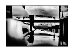 crossbeam + (Armin Fuchs) Tags: arminfuchs würzburg lavillelaplusdangereuse crossbeam piano grandpiano reflection crane clouds niftyfifty windows universityofmusic