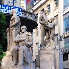 Roque Saenz Pena memorial , Buenos Aires (nicnac1000) Tags: buenosaires ba argentina nude statue seated calleflorida