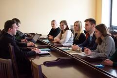 Встреча со студентами БГМУ