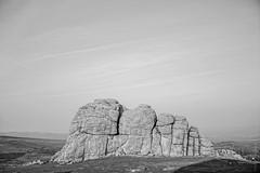 Hay Tor (FlickrDelusions) Tags: devon dartmoor bw blackandwhite landscape haytor