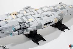 DSC_1470 (Jorstad Designs, LLC) Tags: lego star wars rebel alliance fleet mon calamari scale moc ucs jorstad designs llc mc80a mc80b home one liberty cruiser class hammerhead corvette mc30c frigate dp20 blockade runner