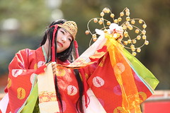 Tradition (Teruhide Tomori) Tags: tradition performance kyoto japan japon heianjingushrine stage dance 京都 舞台 日本 平安神宮 伝統 lady portrait festival event