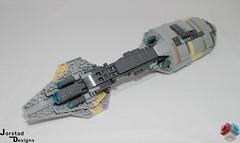 DSC_1391 (Jorstad Designs, LLC) Tags: lego star wars rebel alliance fleet mon calamari scale moc ucs jorstad designs llc mc80a mc80b home one liberty cruiser class hammerhead corvette mc30c frigate dp20 blockade runner
