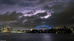 Another lightning strike over Sydneys Harbour Bridge (Moritz Lino) Tags: sydney australia australien big city light lights lightning cityscape tower skyline skyscraper sky skyisthelimit downtown creativity house building harbour bridge opera water birght thunder travel trip traveltheworld nsw new south wales newsouthwales moritzlino fun fuji fujifilm fujinon fujixe3 fujix fujifamily 18mm night nightlights strike explore discover adventure nature