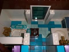 Adding details #6: the bathroom (markfaving) Tags: support ideas moc lego pixar house up bathroom disney 5