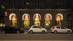 La Bourse - Strasbourg (sigi-sunshine) Tags: fiat strasbourg restaurant labourse börse lokal gastronomie artdeco art alsace elsass strasburg france frankreich cars brasserie