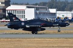 155203 (LAXSPOTTER97) Tags: rcaf royal canadian air force ct155 hawk british aerospace 155203 cn it011 4 wing 419 tactical fighter training squadron aviation airport airplane cyxx