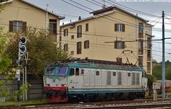 E652 032 (Mattia Deambrogio - Trains & Cars Photos) Tags: e652 novara boschetto manovra