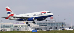 G-EUPE BRITISH AIRWAYS AIRBUS A319 (toowoomba surfer) Tags: jet aeroplane aviation aircraft airline airliner ncl