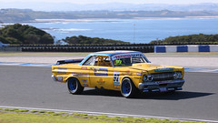 Big YELLOW (2/3) (Jungle Jack Movements (ferroequinologist)) Tags: yellow phillip island grand prix cowes vic victoria paynter dixon touring car masters tcm karafilovski ford mustang trans am boughen mercury comet middleton chev chevrolet gm camaro bass strait motor racing pass race speed cars hottie track practice pole position times timing hard competition competitive event saloon sports racer driver mechanic engine oil petrol build fast faster fastest grid circuit drive helmet marshal starter sponsor number class motorsport classic v8