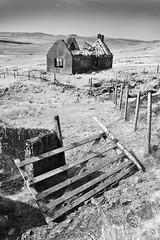 The Old School - Glenmore (Elmer Duck) Tags: glenmore school ruin skye nikond750 nikon2870mmf28 monochrome