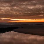 Sunset at the beach thumbnail