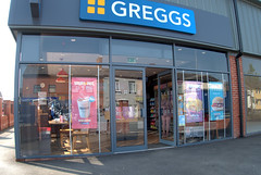 New Greggs in Preston (how many have we got now?) (Tony Worrall) Tags: sign signage shop bake food foodie greggs open entrance window store new londonroad preston lancs lancashire city welovethenorth nw northwest north update place location uk england visit area attraction stream tour country item greatbritain britain english british gb capture buy stock sell sale outside outdoors caught photo shoot shot picture captured ilobsterit instragram photosofpreston