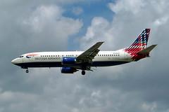G-DOCA   Boeing 737-436 [25267] (British Airways) Gatwick~G 28/06/2004 (raybarber2) Tags: 25267 airliner airportdata cn26267 egkk flickr gdoca johnboardleycollection planebase ukcivil filed