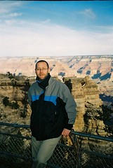 CNV00048 (rugby#9) Tags: jacket coat america us usa arizona gorge rocks sky clouds cloud grandcanyon outdoor