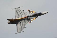 Czech Air Force, SAAB JAS-39C Gripen (j.ersil) Tags: aircraft military fighter jet czech air force airshow nato days ostrava airport saab jas39 gripen tiger tail