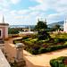 Garden view in luxury hotel Pousada Palácio Estói