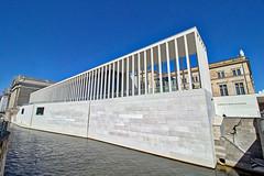 Berlin - Museumsinsel, James-Simon-Galerie (www.nbfotos.de) Tags: berlin museumsinsel jamessimongalerie architektur architectur