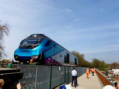 Making History (sjpowermac) Tags: makinghistory scarboroughbridge opening new 138years first crossing 1402 18april2019 68032 destroyer transpennine express 0b66 news complete