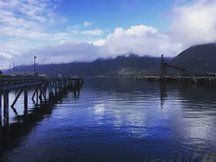 Day 113. (i threw a guitar at him.) Tags: pier harbor alaska skagway cloud water dream sun stil dock spring 2019 stop smoking photo challenge