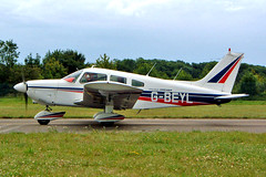 G-BEYL   Piper PA-28-180 Cherokee Archer [28-7405098] Kemble~G 11/07/2004 (raybarber2) Tags: 287405098 abpic airportdata cn287405098 egbp flickr gbeyl planebase raybarber single ukcivil filed