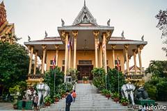 Wat Ounalom, Phnom Penh, Cambodge
