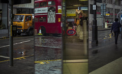 C&A (Julio López Saguar) Tags: segundo please donotusethisphotowithoutpermissionporfavornousarestafotografíasinpermisojuliolópezsaguar early color película film 35mm londres london england inglaterra uk unitedkingdom reinounido calle street oxford espejo mirror reflejo reflection