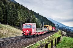LAI_0200 (Hans-Peter Kurz) Tags: railway railroad reisen railscape eisenbahn zug train transport austria österreich outdoor tauernbahn kbs220 kärnten mölltal oberkärnten nebel clouds wolken rettungszug tunnelrettungszug x690 öbb österreichische bundesbahnen kolbnitz penk bahndienstfahrzeug
