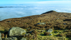 Weather Inversion on Knockastackeen (Mountain Bracken) Tags: 2019 galteemountains galty knockastackeen landscape limerick outdoor path spring tipperary aherlow clouds glenofaherlow hiking ireland mountain munster sky slope weatherinversion