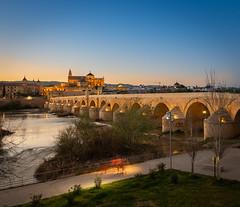 Puente Romano (Córdoba) (...:Pixlwichtl:...) Tags: cordoba flickr puenteromano sonnenuntergang spanien spain córdoba mezquita guadalquivir sunset fluss river brücke bridge wwwpickhardde pickhard wwwpixlwichtlde