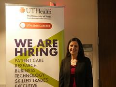 P1060154 (UTHealth SBMI) Tags: school biomedical informatics sbmi uthealth career day
