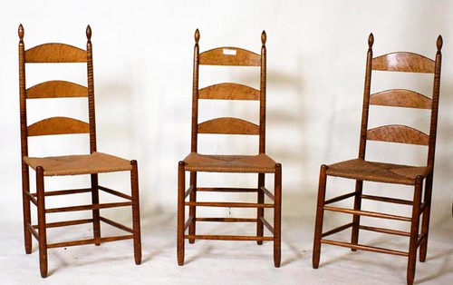 Set of 6 Chairs McGuire Family Shaker ($1,288.00)