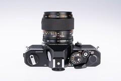 04 - 1975 Konica Autoreflex T3N (NEX69) Tags: 1975 konicaautoreflext3n black schwarz kleinbildkamerach classiccamera