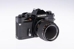 02 - 1975 Konica Autoreflex T3N (NEX69) Tags: 1975 konicaautoreflext3n black schwarz kleinbildkamerach classiccamera