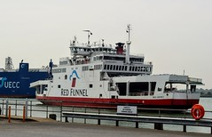 Red Osprey (PD3.) Tags: red funnel southampton hampshire hants east west cowes isle wight ship ferry boat osprey
