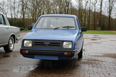 1988 Reliant Rialto GLS (Dirk A.) Tags: mh89vz sidecode4 1988 reliant rialto gls onk