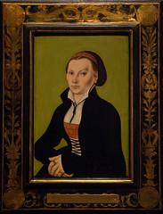 Frau Luther (Sven Rudolf Jan) Tags: portrait nationalmuseum stockholm wife luther painting katharinavonbora cranach