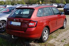 2014 Skoda Fabia Kombi Heck (Joachim_Hofmann) Tags: auto automobil kfz verbrennungsmotor skoda vag volkswagenkonzern fabia kompakt kombi kompoaktfahrzeug golfklasse kraftfahrzeug