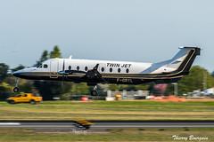 [ORY] Twin-Jet Beech-1900D _ F-GRYL (thibou1) Tags: thierrybourgain ory lfpo orly spotting aircraft airplane nikon d810 tamron sigma twinjet beech beech1900d fgryl landing lepuy