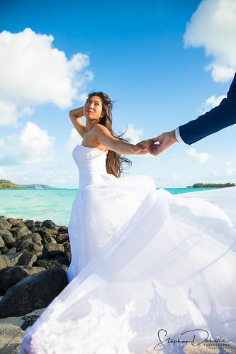 Alexie & Jean Michel -  The Pearl Beach Bora Bora