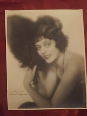 Original signed photo of Silent screen star Clarine Seymour. Clarine made 20 films between 1917 and 1920 before dying of pneumonia after an operation on a strangulated intestine shortly after filming began on her final film Way Down East in 1920. She was (andrewgeorge537) Tags: silentactress signedphoto signed silent clarine seymour rare earlyhollywood 1910s diedyoung