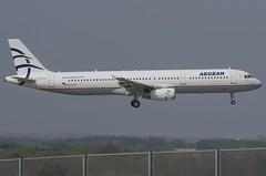 SX-DVP / Airbus A321-232 / 3527 / Aegean Airlines (A.J. Carroll (Thanks for 1 million views!)) Tags: sxdvp airbus a321232 a321200 a321 321 3527 v2530a5 aegeanairlines staralliance prcm 4692d0 london heathrow lhr egll 09l