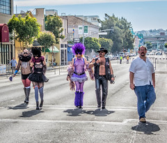 Just A walkin Down The Street (westbymidwest) Tags: sanfrancisco folsomstreetfair california southofmarket lgbtq