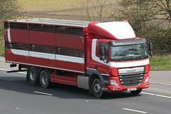 Unknown Livestock LK67 LCP 15th April 2019 (asdofdsa) Tags: hgv haulage transport truck lorry motorway m62 rawcliffe goole freight goods