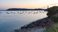 plage des Quatres pompes (ludob2011) Tags: brest 4pompes mer sea sunset coucher phare lighthouse pentax smc plasticwonder iroise bretagne finistère