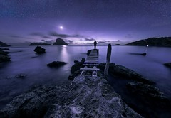 Es Vedra Mágico (Ich Rexel) Tags: noches ibiza esvedra night stars magic outside milkyway sea colors albertorendón nature nocturne pics