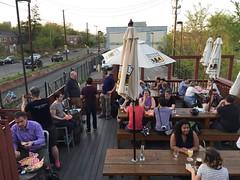 April 2019 BikeDC Happy Hour at Dew Drop Inn (Mr.TinDC) Tags: dc washingtondc brookland edgewood dewdropinn happyhour bikedc people friends cyclists patio deck